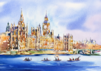 Houses of Parliament & Devises to Westminster Canoe Race