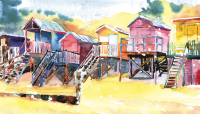 Beach Huts Wells